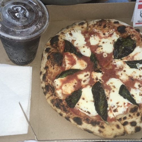twelve inch margherita pizza and soda - Delivery from Pizzeria Solario
