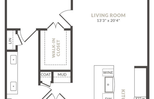 one bed/one bath luxury apartment home - Elevate Your Lifestyle