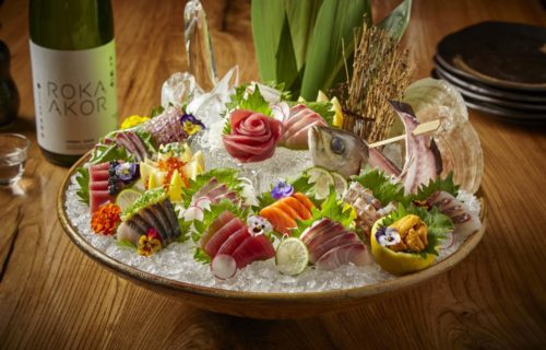 deluxe shashimi platter - Takeout from Roka Akor